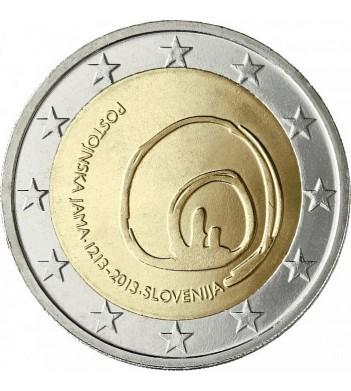 Словения 2013 2 евро Пещера Постойнска-Яма