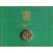 Ватикан 2010 2 евро Год священников