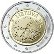 Литва 2016 2 евро Балтийская культура