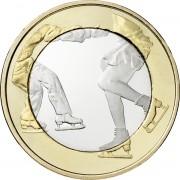 Финляндия 2015 5 евро Фигурное катание