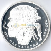 Германия 2016 20 евро Отто Дикс G