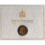 Ватикан 2013 2 евро Вакантный престол