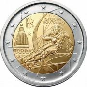Италия 2006 2 евро Олимпийские игры Турин