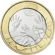 Финляндия 2015 5 евро Волейбол