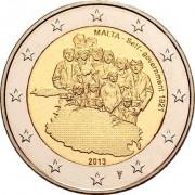 Мальта 2013 2 евро Правительство 1921 года