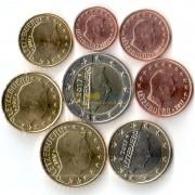Люксембург Набор 8 монет евро 2017 (1-50 центов, 1-2 евро)