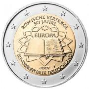 Германия 2007 2 евро Римский договор D