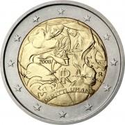 Италия 2008 2 евро Декларация прав человека