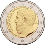 Греция 2013 2 евро Академия Платона