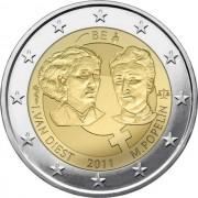 Бельгия 2011 2 евро 100 лет Международному женскому дню
