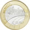 Финляндия 2015 5 евро Гимнастика