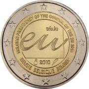 Бельгия 2010 2 евро Представительство в ЕС