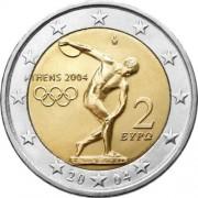 Греция 2004 2 евро Олимпийские игры Афины