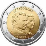 Люксембург 2006 2 евро Великий герцог Гийом