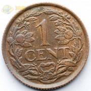 Нидерланды 1941 1 цент (бронза)