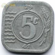 Нидерланды 1941 5 центов (цинк)