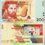 Албания бона 200 лек 2012