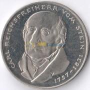 ФРГ 1981 5 марок Карл Штейн