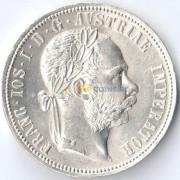 Австрия 1890 1 флорин Франц Иосиф (серебро)