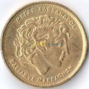 Греция 2000 100 драхм Александр Македонский