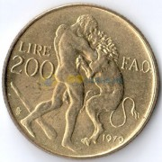 Сан-Марино 1979 200 лир ФАО