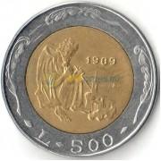 Сан-Марино 1989 500 лир История