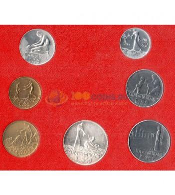 Ватикан 1978 набор 7 монет в буклете