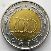 Венгрия 1997 100 форинтов