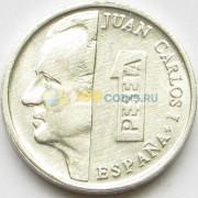 Испания 2001 1 песета Король Хуан Карлос I