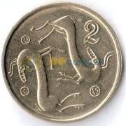 Кипр 1998 2 цента