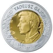 Польша 2009 10 злотых Тадеуш Гайцы (серебро)