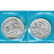 Сан-Марино 1985 500 и 1000 лир Иоганн Бах (серебро)
