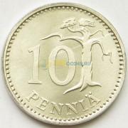 Финляндия 1983 10 пенни (алюминий)