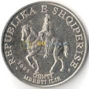 Албания 2000 50 лек Гентий царь