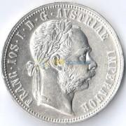Австрия 1877 1 флорин Франц Иосиф (серебро)