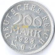 Германия 1923 200 марок G