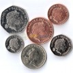 Гернси набор 6 монет 1992-2012