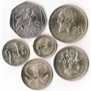 Кипр 2004 набор 6 монет