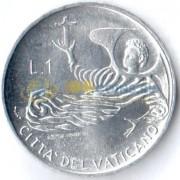 Ватикан 1969 1 лира Ангел