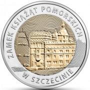 Польша 2016 5 злотых Замок Поморских князей в Штеттине