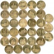 Польша набор 32 монеты 2005-2008 Исторические города