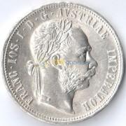 Австрия 1879 1 флорин Франц Иосиф (серебро)