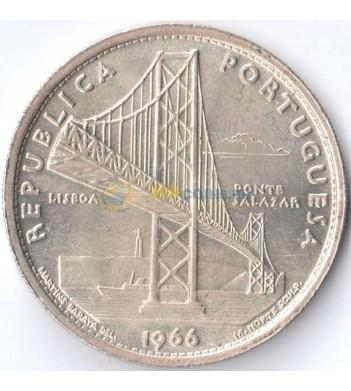 Португалия 1966 20 эскудо Мост Салазара (серебро)