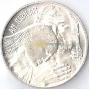 Ватикан 1975 500 лир Святой год прощения (серебро)