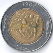 Сан-Марино 1982 500 лир Социальные достижения