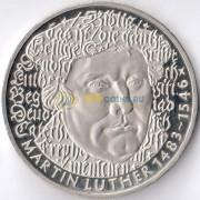 ФРГ 1983 5 марок Мартин Лютер