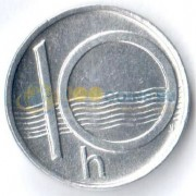 Чехия 1994 10 геллеров