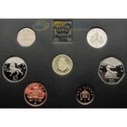 Великобритания 1988 набор 7 монет (proof)