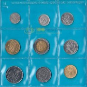 Сан-Марино 1982 набор 9 монет (запайка)