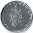 Ватикан 1976 100 лир Голубь с оливковой ветвью